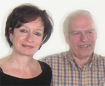 Dorn und Vivianne Terzoli