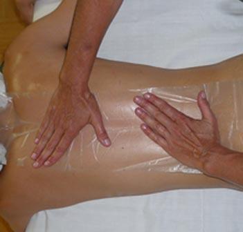Wirbelsäule Massage